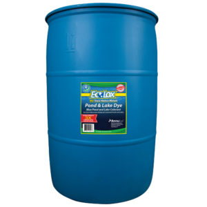 EcoLox Blue Pond & Lake Dye - 30 Gallon 3X