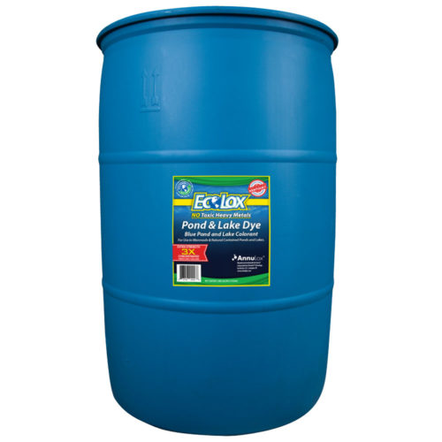EcoLox Blue Pond & Lake Dye – 30 Gallon 3X