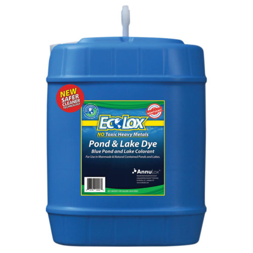 EcoLox Blue Pond & Lake Dye – 5 Gallon 1X Original Formula