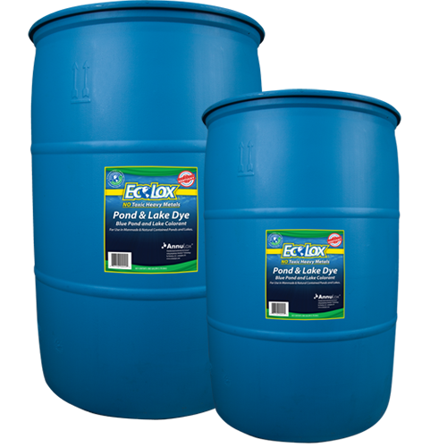 EcoLox Blue Pond & Lake Dye - Bulk Blue Dye