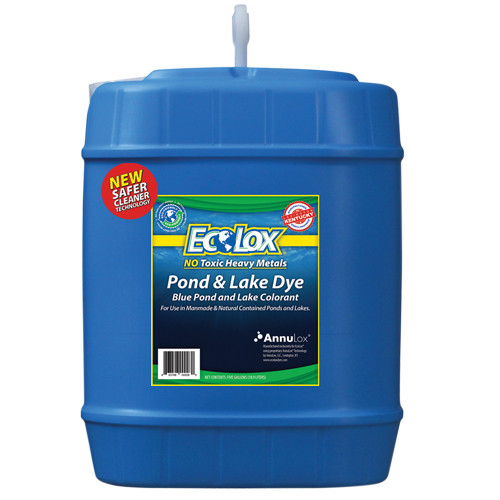 EcoLox Blue Pond & Lake Dye - 5 Gallon 1X