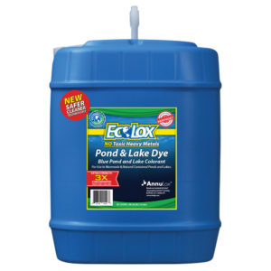 EcoLox Blue Pond & Lake Dye - 5 Gallon 3X