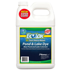 EcoLox Blue Pond & Lake Dye - 1 Gallon 1X