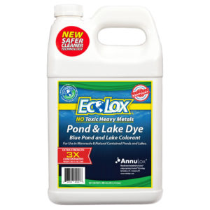 EcoLox Blue Pond & Lake Dye - 1 Gallon 3X