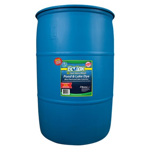 EcoLox Bulk Blue Dye - 55 Gallon 3X