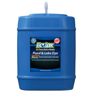 EcoLox Black Pond & Lake Dye - 5 Gallon