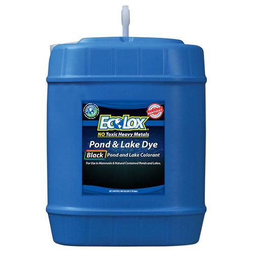 EcoLox Black Pond & Lake Dye - 5 Gallon