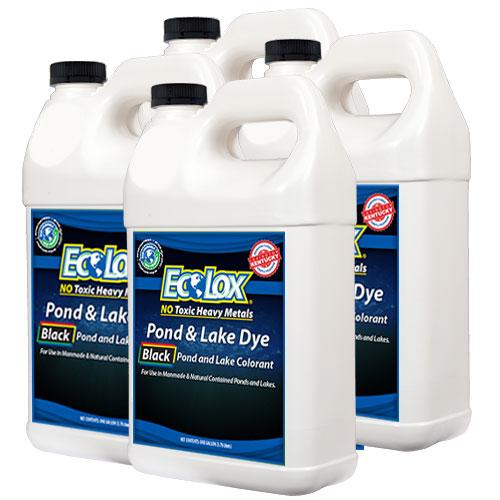 EcoLox Black Pond & Lake Dye - 4 Gallon