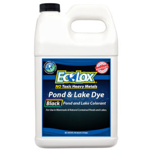 EcoLox Black Pond & Lake Dye - 1 Gallon