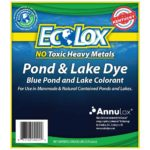 EcoLox Blue Pond Dye Front Label
